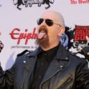 Rob Halford arrives at the 2nd Annual Revolver Golden Gods Awards held at Club Nokia on April 8, 2010 in Los Angeles, CA