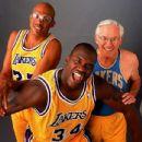 Kareem Jabbar, George Mikan &  Shaquille O'Neal
