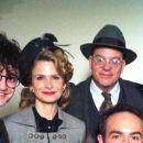 Jennifer Jason Leigh and David Cross