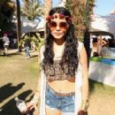Vanessa Hudgens and Austin Butler attend Day 3 of the 2012 Coachella Valley Music & Arts Festival held at the Empire Polo Club on April 15, 2012 in Indio,