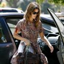 Rachel Bilson Shopping With A Friend And Her Dog, 2008-07-23