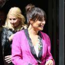 Lea Michele Leaving BBC Radio 2 studios in London - 454 x 745