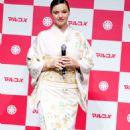 Miranda Kerr – Promotes 'Marukome Co. Ltd' Miso Products in Tokyo - 454 x 624