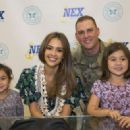 Jessica Alba, Founder of the Honest Company, Visits Pearl Harbor NEX - 454 x 323