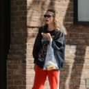 Jaime King in Red Sweats – Out in New York City - 454 x 680