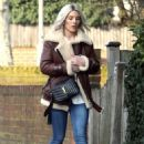 Mollie King – Out in London - 454 x 667