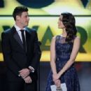 Corey Monteith and Emmy Rossum At The 18th Annual Critics' Choice Movie Awards - Show (2013) - 454 x 302