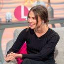 Alicia Vikanderon 'Lorraine' TV show in London