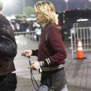 Cara Delevingne and Ashley Benson – Arrives at Elton John's Concert in Inglewood - 454 x 681