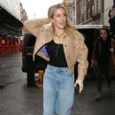 Ellie Goulding – Arriving for a BBC 1 Live Lounge Performance in London