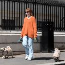 Nicola Roberts – Steps out for a walk in London - 454 x 346