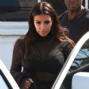 Kim Kardashian spotted leaving a Production Studio in Van Nuys CA April 13, 2016