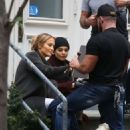 Jennifer Lopez and Vanessa Hudgens – Filming 'Second Act' in New York
