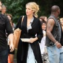 "Blake Lively on the set of ""Gossip Girl"" in New York City (July 19)"
