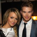 Katie Cassidy and Kellan Lutz