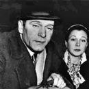 Vivien Leigh and Laurence Olivier. Viv having a breakdown