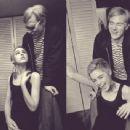 Eddie Sedgewick and Andy Warhol - 454 x 342