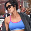 Padma Lakshmi Heading To The Gym In Nyc