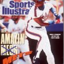 Darryl Strawberry - Sports Illustrated Magazine Cover [United States] (9 July 1990)