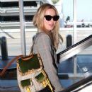 Annabelle Wallis departs from LAX - 454 x 569