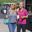 Jessica Hall and Kendra Wilkinson The Hank Baskett Classic Golf Tournament in Calabasas - 454 x 681