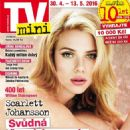 Scarlett Johansson - TV Mini Magazine Cover [Czech Republic] (30 April 2016)
