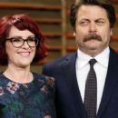 Megan Mullally and Nick Offerman - 454 x 256