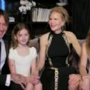 Keith Urban, Nicole Kidman and Daughters - The 2021 Golden Globe Awards