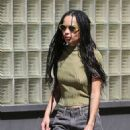 Zoe Kravitz – Out in New York City - 454 x 681