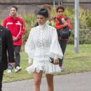 Sofia Richie and Scott Disick – Arrives at Derby Day Races in Melbourne - 454 x 636