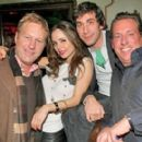 Brent Bolthouse and Eliza Dushku