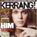 Ville Valo - Kerrang Magazine Cover [United Kingdom] (19 July 2008)