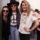 Richie Sambora, Tico Torres & Sebastian Bach