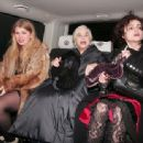 December 11st 2010 - Actress Helena Bonham Carter, her mother Elena and her niece actress Rose Bonham Carter pictured leaving the Ivy restaurant after dining with their families - 454 x 337