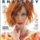 Christina Hendricks - Rhapsody Magazine Cover [United States] (April 2014)
