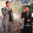 """Will and Jaden Smith at the """"After Earth"""" Premiere at the Tokyo Skytree in Japan (April 30)"""