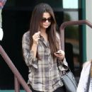 Selena Gomez leaving a medical center in Los Angeles, California on December 4th, 2012