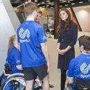 Kate Middleton Visits a SportsAid Workshop (November 12, 2014)