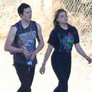 Chloe Moretz and Brooklyn Beckham Out on a hike in Studio City