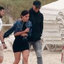 Cristiano Ronaldo treats girlfriend Georgina Rodriguez and son Cristiano Jr to a weekend in Ibiza as injury rules him out of Real Madrid's latest win