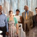 L to R: Lance Gross, America Ferrera, Regina King, Forest Whitaker and Carlos Menciaa in Fox Searchlight Pictures' Our Family Wedding.