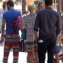 Michelle Williams and Jason Segel out in Los Feliz (August 20)