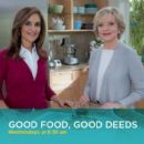 Florence Henderson With Joy Bauer For Food On Wheels - 405 x 400
