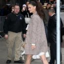 Katie Holmes making an appearance on 'Good Morning America' in New York City, New York on March 29, 2017 - 424 x 600