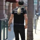 Musician Dee Snider spotted out shopping in Beverly Hills, California on June 27, 2016 - 393 x 600