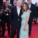 Salma Hayek–Anniversary Soiree at70th Cannes Film Festival - 454 x 681