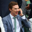 Benedict Cumberbatch- July 12, 2015-Day Thirteen: The Championships - Wimbledon 2015 - 428 x 600