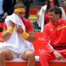 Rafael Nadal y Sergi Bruguera - Copa Davis 2018 - 454 x 299