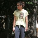 Kate Mara – Out for a hike in Los Angeles