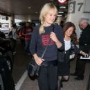 Malin Akerman – Arrives at LAX Airport in LA